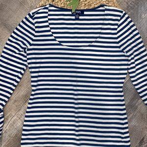 Chaps Ralph Lauren striped shirt size medium